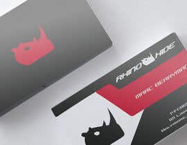 #24 untuk Develop a Corporate Identity for Rhinohide oleh vadimcarazan