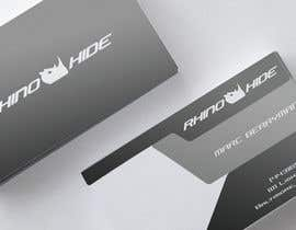 #41 untuk Develop a Corporate Identity for Rhinohide oleh vadimcarazan