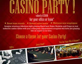 nº 16 pour Flyer - Easy, Quick, Casino Theme par adhitya7393