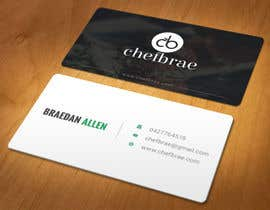 #6 for Design some Business Cards for ChefBrae af azad0702