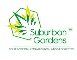 #90 untuk Logo Design for Suburban Gardens - A solar-powered, veteran owned indoor collective oleh nm8