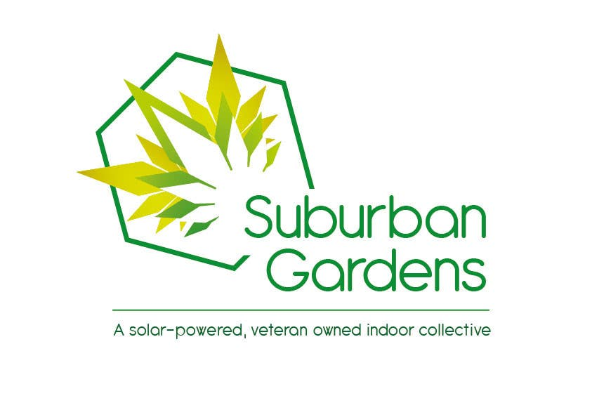 Contest Entry #                                        26                                      for                                         Logo Design for Suburban Gardens - A solar-powered, veteran owned indoor collective