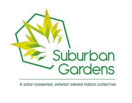 nm8 tarafından Logo Design for Suburban Gardens - A solar-powered, veteran owned indoor collective için no 26