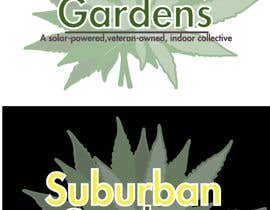 LynnN tarafından Logo Design for Suburban Gardens - A solar-powered, veteran owned indoor collective için no 56
