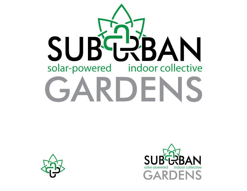 Konkurrenceindlæg #                                        60                                      for                                         Logo Design for Suburban Gardens - A solar-powered, veteran owned indoor collective