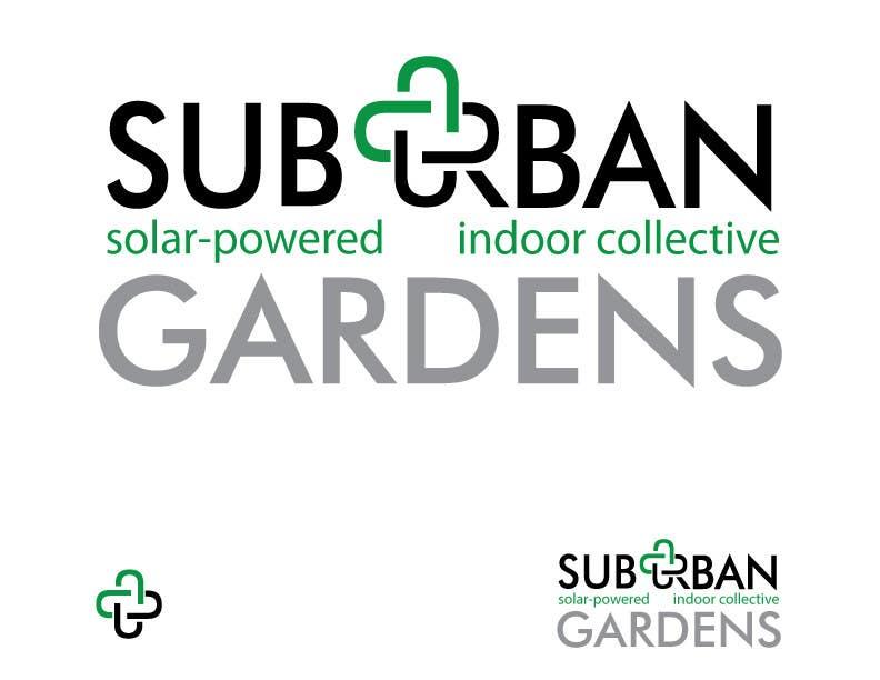Participación en el concurso Nro.                                        61                                      para                                         Logo Design for Suburban Gardens - A solar-powered, veteran owned indoor collective