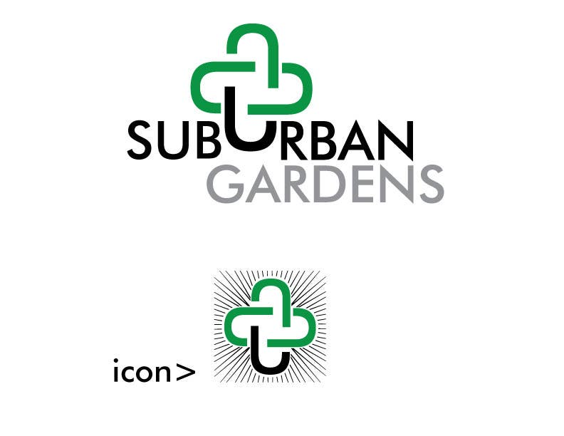 Konkurrenceindlæg #                                        3                                      for                                         Logo Design for Suburban Gardens - A solar-powered, veteran owned indoor collective