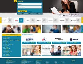 greenarrowinfo tarafından Design a Homepage for a Job Site için no 34