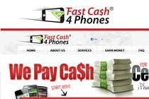 Graphic Design Entri Kontes #91 untuk Logo Design for Fast Cash 4 Phones