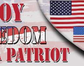 #12 cho Design a Banner for an American Themed Website bởi deeadum