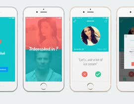 #24 cho Design an App Mockup for Dating Application bởi amineatlassi