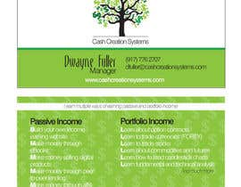 #52 untuk Design some Business Cards for Cash Creation Systems oleh mariafrinconf