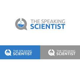 #140 para The Speaking Scientist's Logo por asela897