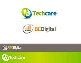 nº 51 pour design logo for BC Digital and Techcare par sbelogd
