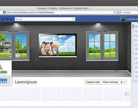 #26 para Design one Facebook Cover Photo for our two companies por ArtisticLab
