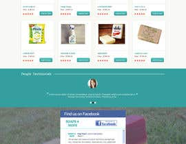 #8 untuk Design a better website to sell soaps oleh manfredinfotech