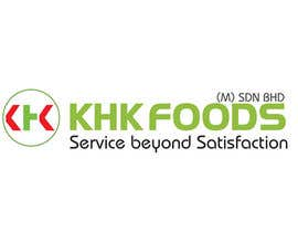 #306 for Logo Design for KHK FOODS (M) SDN BHD by ulogo