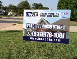 #22 for Design a Yard Sign for a roofing company af teAmGrafic