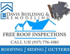 #1 untuk Design a Yard Sign for a roofing company oleh fourstar2k