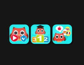 #10 for Re-Design 3 App Icons for App Stores af alexandracol