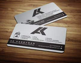 #13 for Design some Business Cards for removals/handy man af anikush