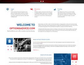#6 for Design a PPC Landing Page for OptionsAdvice.com af syrwebdevelopmen