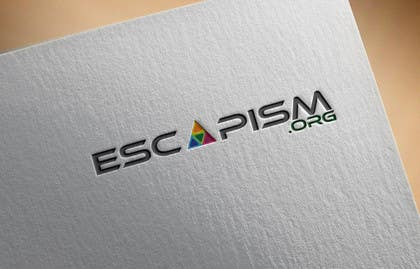 #29 untuk Design a Logo for escapism.org oleh walijah