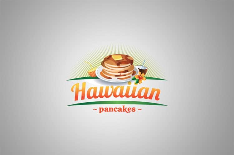 Kilpailutyö #21 kilpailussa Design a Logo for Hawaiian Pancakes