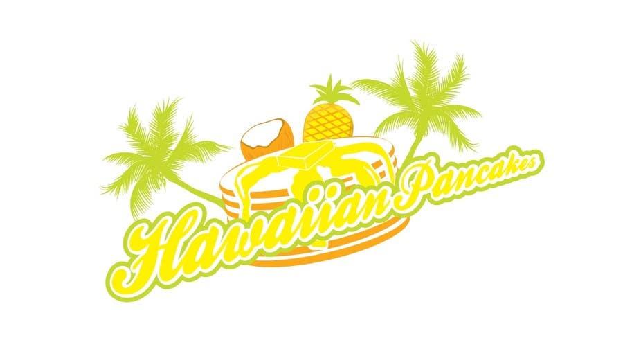 Kilpailutyö #13 kilpailussa Design a Logo for Hawaiian Pancakes