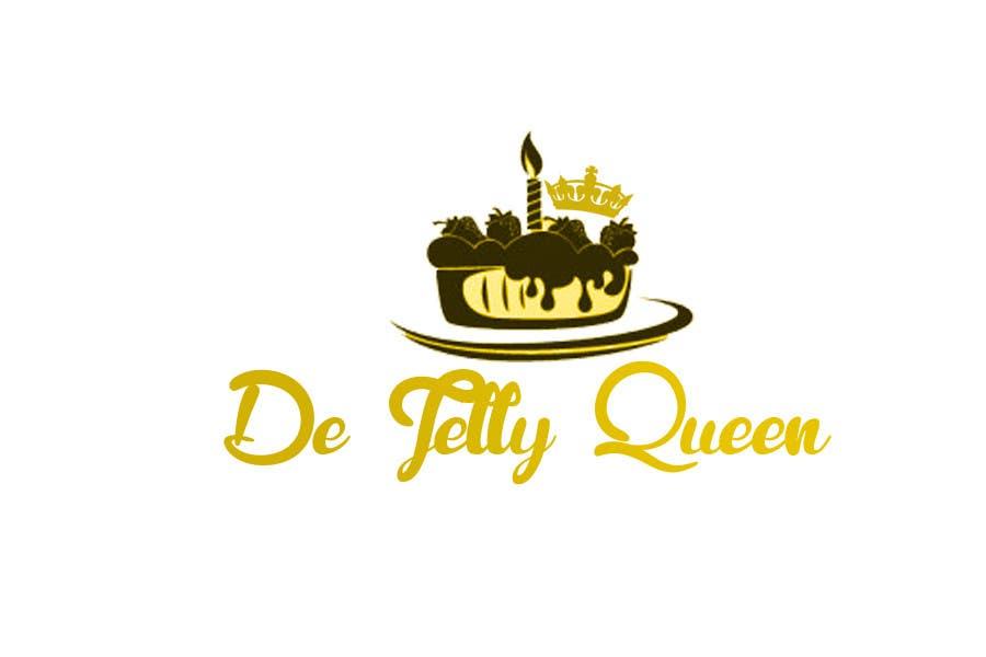 Kilpailutyö #4 kilpailussa Design a Logo for De Jelly Queen