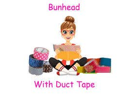 "devyani16 tarafından Design a Logo for my ""Bunhead with Duct Tape"" Website/Blog/Business Cards için no 5"