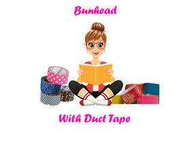 "devyani16 tarafından Design a Logo for my ""Bunhead with Duct Tape"" Website/Blog/Business Cards için no 10"