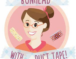"asanilta tarafından Design a Logo for my ""Bunhead with Duct Tape"" Website/Blog/Business Cards için no 16"