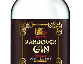 #43 untuk Design a Logo and bottle label for Handover Gin oleh Gulayim