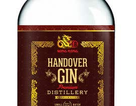 #56 untuk Design a Logo and bottle label for Handover Gin oleh Gulayim