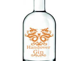 #62 untuk Design a Logo and bottle label for Handover Gin oleh TreeXMediaWork