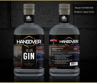 #222 untuk Design a Logo and bottle label for Handover Gin oleh chubbycreations