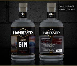 #224 untuk Design a Logo and bottle label for Handover Gin oleh chubbycreations