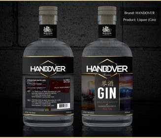 #226 untuk Design a Logo and bottle label for Handover Gin oleh chubbycreations