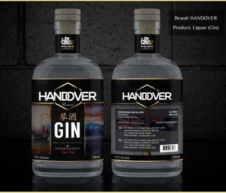 #227 untuk Design a Logo and bottle label for Handover Gin oleh chubbycreations