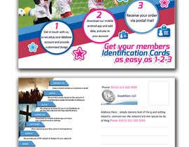 #2 for Design a 4x6 Flyer for Kids Soccer Club & Church identity cards af jeanniefreelance