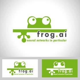 Nro 6 kilpailuun Design a Logo for frog.ai käyttäjältä fahdsamlali
