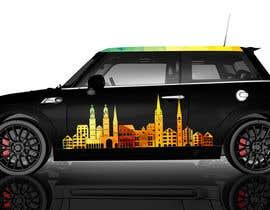 #31 para Car Design for a MINI Cooper F56 por ivanmonterolora