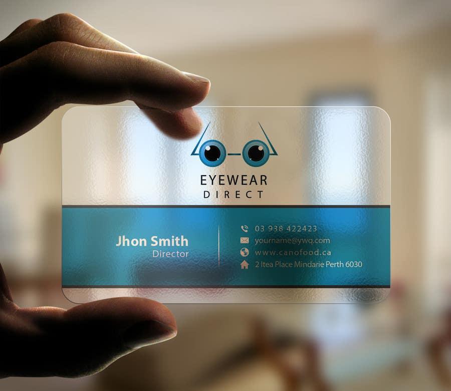 Penyertaan Peraduan #104 untuk Design some Business Cards for Eyewear Direct