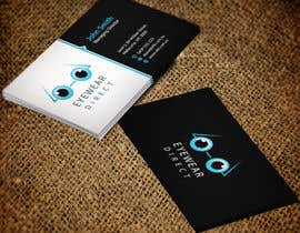 #115 untuk Design some Business Cards for Eyewear Direct oleh mdreyad