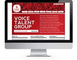 #3 untuk Design a Website Mockup for Voice Talent Group (Vocal School) oleh Vishwa94