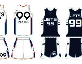 nº 14 pour I need some Graphic Design for a Basketball Uniform par gazda8