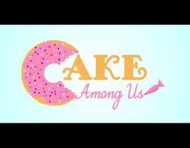 "#10 untuk Design a Logo for Bakery / Donut / Cake Shop ""Cake Among Us"" oleh istykristanto"