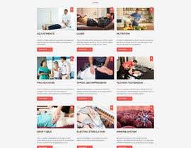 #19 untuk Design a Website Mockup for Guthrie Chiropractic oleh massoftware