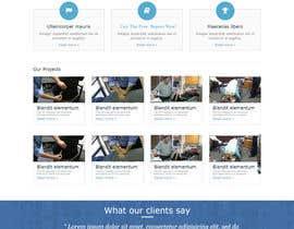 #61 para Design a Website Mockup for Guthrie Chiropractic por lassoarts